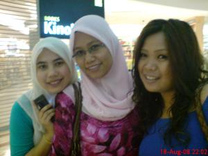 with soleha and ina