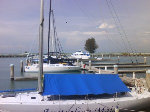 some of the many yatch there. :)