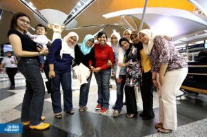 fiqa's (and taz's) farewell @ KLIA (30th April)