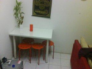 meja dan kerusi mix and match...