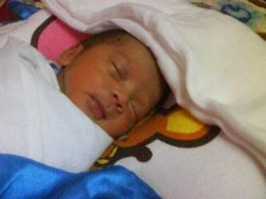 baby aiman.... :)