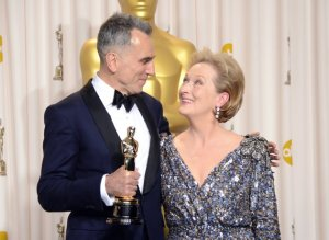 Winner, Daniel Day Lewis and Presenter, Meryl Streep. :)