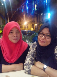 With Jujue Friday nite out ;)
